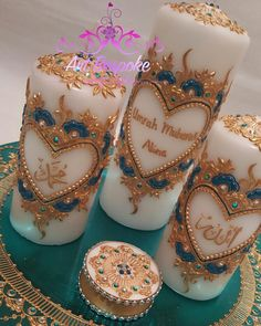 Close up. One of four sets ordered by customer.   PLEASE DM OR EMAIL ME FOR ENQUIRIES  #art_bespoke #hennainspire #mehndinight #london #londontown #bridalmehndi #bespoke #shaadi #mehndicandle #candleset #hennacanvas #hennadesign #follow4follow #hennacandle #handmade #hennaart #l4l #f4f #hennacandle #henna #mehndi #personalised #hudabeauty #zukreat #weddings #hennadecor #wedding #like4like #hennatattoo #mehndiartist #indianwedding by art_bespoke