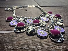 """The NEW @premierdesignsinc """"Violet"""" necklace is a stunner AND it's equally as beautiful on the flip side since its REVERSIBLE!! Find me http://theresag.mypremierdesigns.com/"""
