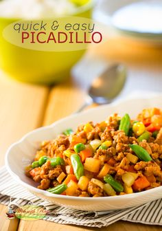 Picadillo @Wok with Ray