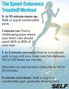 The Speed-Endurance Workout