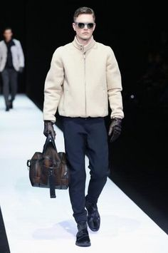 Emporio Armani gets sporty for men at Milan Fashion Week fall/winter 2013