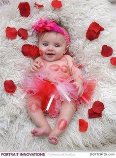 Una rosa para una bebe preciosa