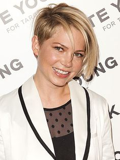 michelle williams new short hair - Google Search