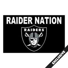 Oakland Raiders Novelty Flags & Banners Merchandise