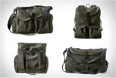 FILSON X MAGNUM PHOTOGRAPHY BAGS  - http://www.gadgets-magazine.com/filson-x-magnum-photography-bags/