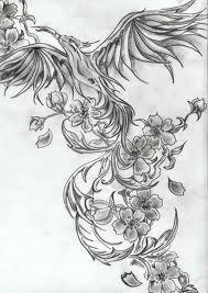 Galeria tatuazy - Tatuaże feniks
