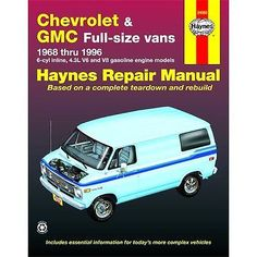 Haynes repair manual new #chevy #express van savana chevrolet for g20 #24080,  View more on the LINK: 	http://www.zeppy.io/product/gb/2/371601826288/