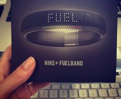 "Nike FuelBand (review); tells you the time, steps taken, calories burned and fuel points.  ""It's addicting and motivating."""