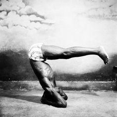 Yoga. Ghana. 1960's. Shot by the Legendary James Barnor