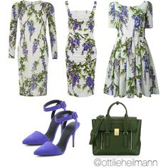 D&G Wisteria by ottilieheilmann on Polyvore featuring Dolce&Gabbana, Alexander Wang and 3.1 Phillip Lim
