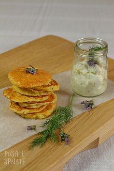 Pancakes salati ai fiori di zucchina_Posate Spaiate