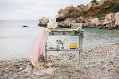 Elegant Meets Organic by the Sea Wedding Inspiration in Greece   #eventplanner #wedding #weddingplanneringreece #fairytale #beach #greece #sounio #templeofposeidon #elegant #organic #elegantwedding #organicwedding #olivewedding #oliveoilwedding #olivetheme #weddingdesserttable #desserttable