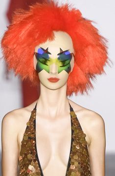 Le makeup disco de Gareth Pugh Fashion Week de Londres