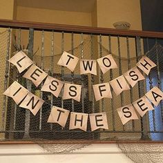 No 9 in my #nautical theme today: #twolessfishinthesea #nauticalwedding #seaside #seasidewedding #wedding #weddingblog #weddingblogger #weddinginspiration #weddingplanning #weddingdetails by @sosmittenspecialevents #weddingdetails #weddingdecor