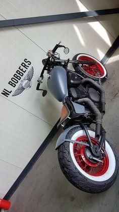 69 Trendy Ideas for bobber motorcycle honda shadow Honda Bobber, Ducati, Virago 125 Bobber, Motos Bobber, Honda Shadow Bobber, Virago 535, Yamaha Virago, Bobber Bikes, Harley Bobber