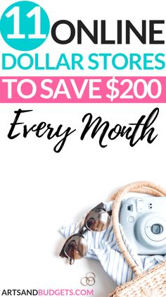 Did you know you can shop at Dollar Stores online and save money? This post shares 11 awesome online Dollar Stores To save money. Ways To Save Money, Money Tips, Money Saving Tips, Money Budget, Saving Ideas, Savings Planner, Money Saving Challenge, Managing Your Money, Frugal Living Tips