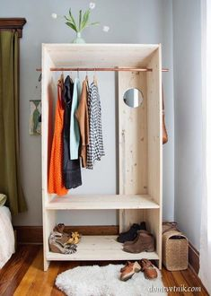 шкаф гардероб своими руками