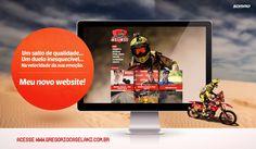 Website de Gregório Caselani. Monitor, Electronics, Website, Consumer Electronics