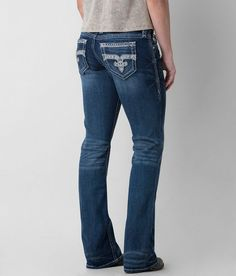 Rock Revival Haine Easy Boot Stretch Jean - Women's Jeans | Buckle