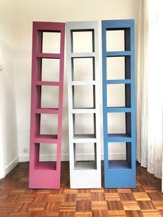 Nu in de #Catawiki veilingen: Fabrikant onbekend - set van 3 metalen boekenkasten