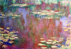 Claude Monet / Water lilies, 1905
