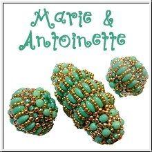 Marie & Antoinette beaded beads