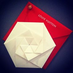Louis Vuitton Oragami Invitation