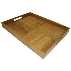 Simply Bamboo Large Rectangular Serving Tray
