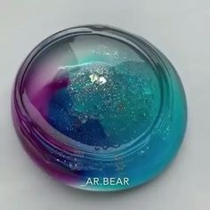 Clr galaxy slime!!!!