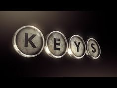 In this tutorial, Learn some awesome trick to create a logo with typewriter keys.