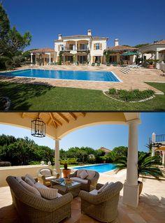 A villa in the Algarve