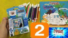 Adventure time - Hora de aventura 2 Baralho Copag e caderno de pintura app Google app store   Curta, compartilhe, inscreva-se!!!