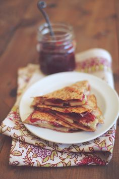 Turkey Apple & Swiss Quesadilla