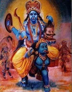 Shiva Art, Shiva Shakti, Mahakal Shiva, Hindu Art, Indian Goddess Kali, Indian Gods, Indian Art, Maa Kali Images, Durga Images