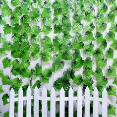 Hot Selling  2.4M Artificial Ivy Leaf Hanging Garland Flowers Vine for DIY Home Wedding Floral Wall Garden Decor VB514 P40