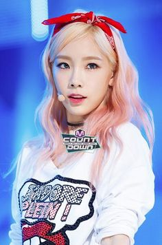 Taeyeon - Mcountdown Official pic