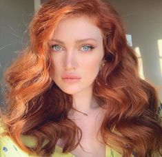 Burgundy Brown - 40 Red Hair Color Ideas – Bright and Light Red, Amber Waves, Ginger Hair Color - The Trending Hairstyle Beautiful Red Hair, Gorgeous Redhead, Beautiful Eyes, Beautiful Women, Red Hair Color, Blue Hair, Red Hair With Blue Eyes, Red Hair Blue Eyes Makeup, Long Red Hair