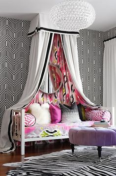 Teen Girl Bedrooms - From basic to captivating design suggestions. Hungry for extra eye popping teen room decor ideas please pop by the pin to study the article idea 5241338072 at once Girls Bedroom, Teenage Girl Bedrooms, Bedroom Decor, Bedroom Ideas, White Bedroom, Feminine Bedroom, White Canopy, Bedroom Bed, Bedroom Themes