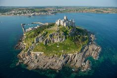 From Love Great Britain Photos of England  St. Michael's Mount in Cornwall is a feast for the eyes as well as the imagination.