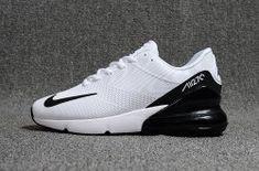 new style 1dc00 16187 Nike Air Max Flair 270 KPU White Black Men s Running Shoes