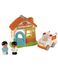 HappyLand Doctor's Surgery : HappyLand Doctor's Surgery : Early Learning Centre UK Toy Shop