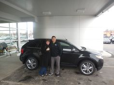 Matt Williams and the rest of us here at Court Street Ford would like to say congratulations to Rebecca Small of Kankakee on the purchase of her 2013 Ford Edge. Thank you for your business Rebecca!