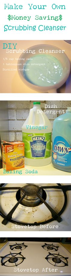 DIY Eco-Friendly and Money Saving Scrubbing Cleanser | Cupcakes & Crinoline - Part 1