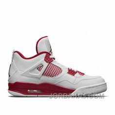 factory authentic 6fe86 4b3af Buy Air Jordan 4 Alternate 89 White   Black - Gym Red from Reliable Air  Jordan 4 Alternate 89 White   Black - Gym Red suppliers.Find Quality Air  Jordan 4 ...