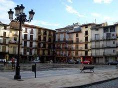 Plaza España, Calatayud, Zaragoza, España