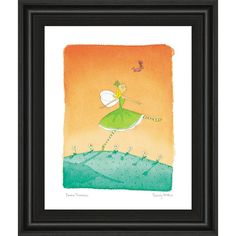 """22 in. x 26 in. """"Felicity Wishes IV"""" by Emma Thomson Framed Printed Wall Art"""
