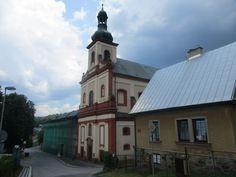 Kostel sv. Augustina - 1725 - Vrchlabí - kraj Královéhradecký