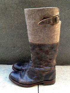 Sendra Women's Vintage Look Brown Crackled Leather Wool Top Biker Boot Size US 9   eBay Sold