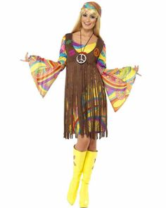 1960s Groovy Lady Womens Costume