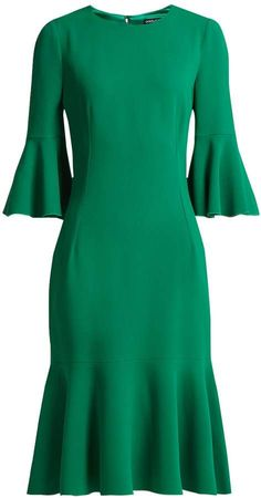 Womens Dress,Formal Dress,Office Dress,Grey Mellange,,Minimalistic Design,Classic Dress,Timeless Design,Dress With Pockets